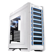 Thermaltake Chaser A31  Snow edition mid-tower chassis, Midi-Tower, ATX/micro-ATX, 2x USB 3.0 (sin Fuente de poder)