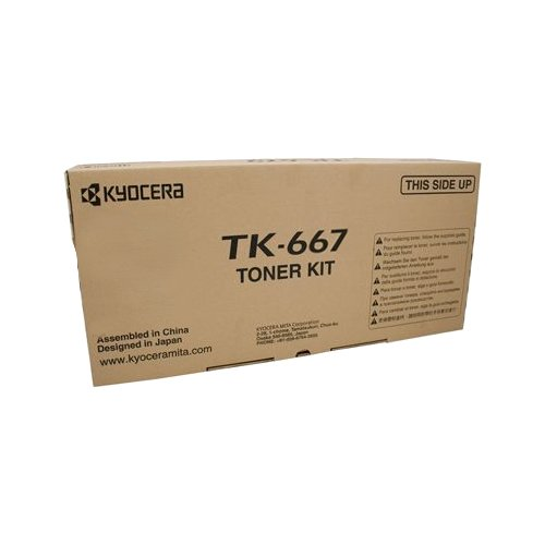 Kyocera Mita  (TK-667) Black Toner Cartridge