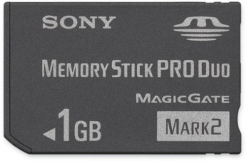 Sony 1 GB Memory Stick PRO Duo Flash Memory Card