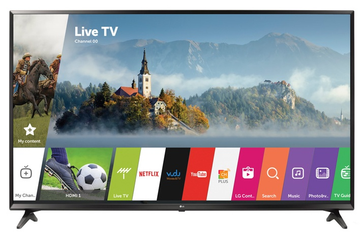 LG Smart TV LED 60UJ6300 60'', 4K Ultra HD, Widescreen