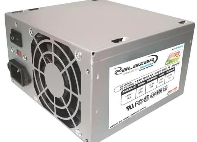 ACTECK PW AF-B500P EDGE PW POWER SUPPLY 500W MICRO ATX 20 + 4
