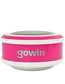 GOWIN MM RED-301 Bocina Portátil 360 colores ROSA con BLANCO