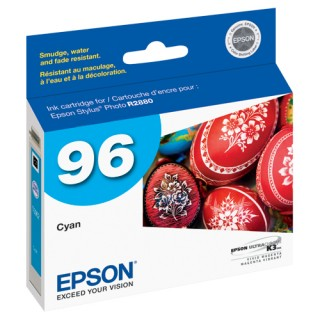 Cartucho Epson T096220 Cyan. Compatible con: Stylus Photo R2880