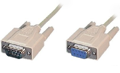 CABLE SERIAL DB9 M-M 4.5 METROS