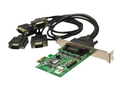 SIIG 4-Port Serial PCI Express Card Model JJ-E40011-S3