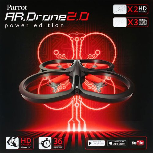 AR.Drone 2.0 Quadricopter Power Edition