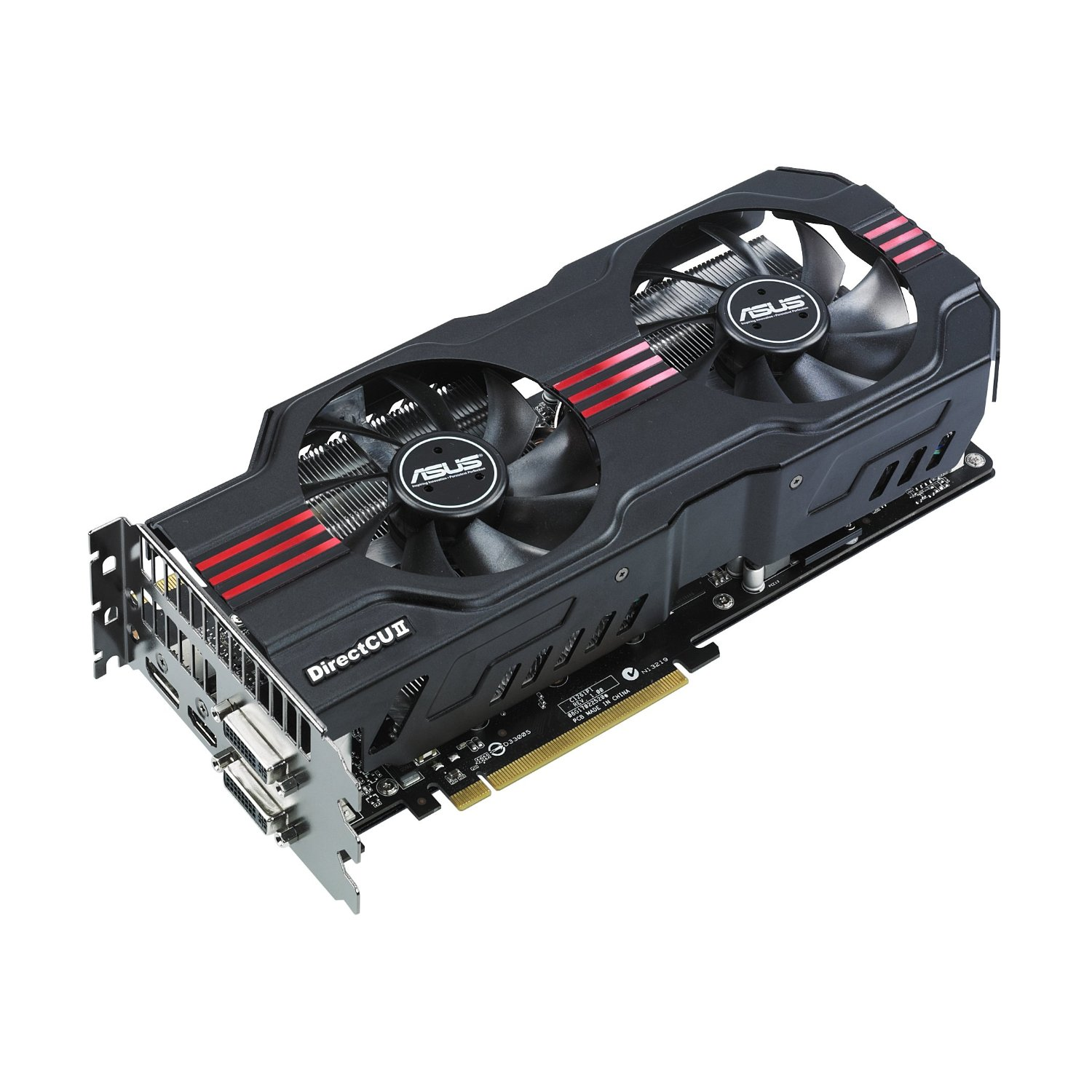 ASUS VC NVIDIA ENGTX580 DCII/2DIS/1536MD5 IIDVI / HDMI / DISPPORT DDR5 1536MB