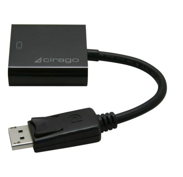 Cirago DisplayPort a DVI Single Link activo DisplayPort a DVI Adapter DPA1021 interfaz