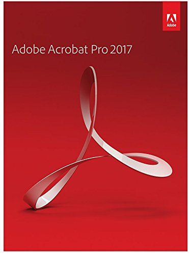 Adobe Acrobat Pro 2017 -PC DISC-.
