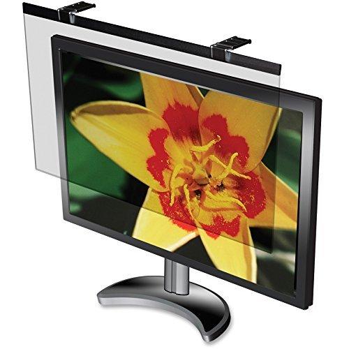 "Anti-glare LCD Privacy Filter Black - 24"" Monitor"