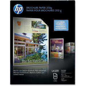 HP COLOR LASER BROCHURE PAPER 200G  GLOSSY. tamaño carta