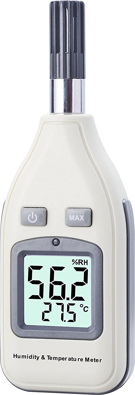 Benetech gm1362 medidor de temperatura de humedad digital for Medidor de temperatura y humedad digital