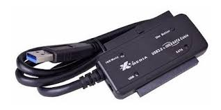 X-MEDIA ADAPTADOR USB 3.0 MACHO - IDE, NEGRO