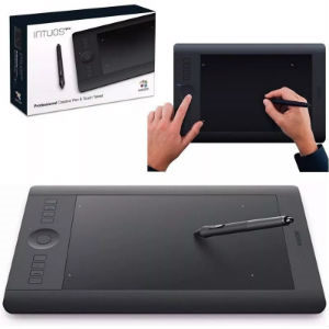 TABLETA WACOM INTUOS PRO PEN AND TOUCH SMALL WIRELESS
