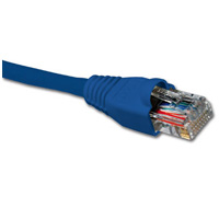 Patch Cord NXT Cat6a 2.1m/7Ft UTP RJ45 Azul Forro LSZH