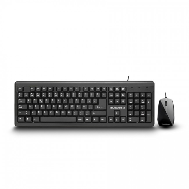 ACTECK BD TB-01006 KIT TECLADO Y MOUSE TRUE BASIX