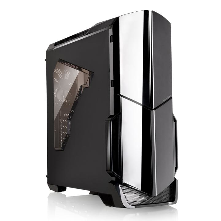 THE CS CA-1G1-00M1WN-00 VERSA N24 Mid Tower Mini ITX Micro ATX ATX bahias Accessible1 x 5.25'' Hidden 2 x 3.5'' or 2.5' with HDD tray 1 x 3.5 without HDD tray 2 x 2.5'' with the M/B tray
