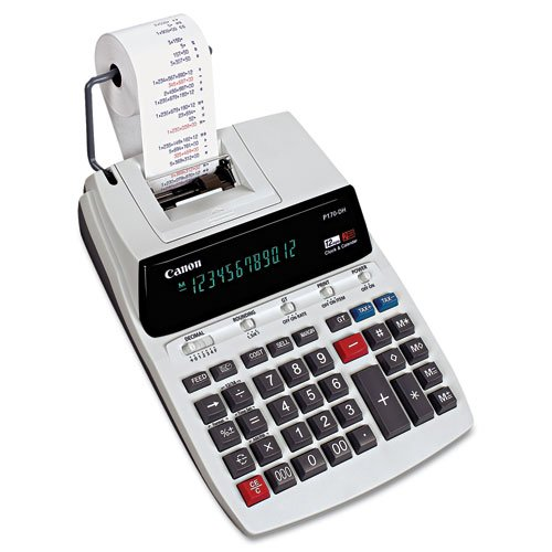 CALCULADORA P170DH 12 DIGITOS IMPR DOS COLORES