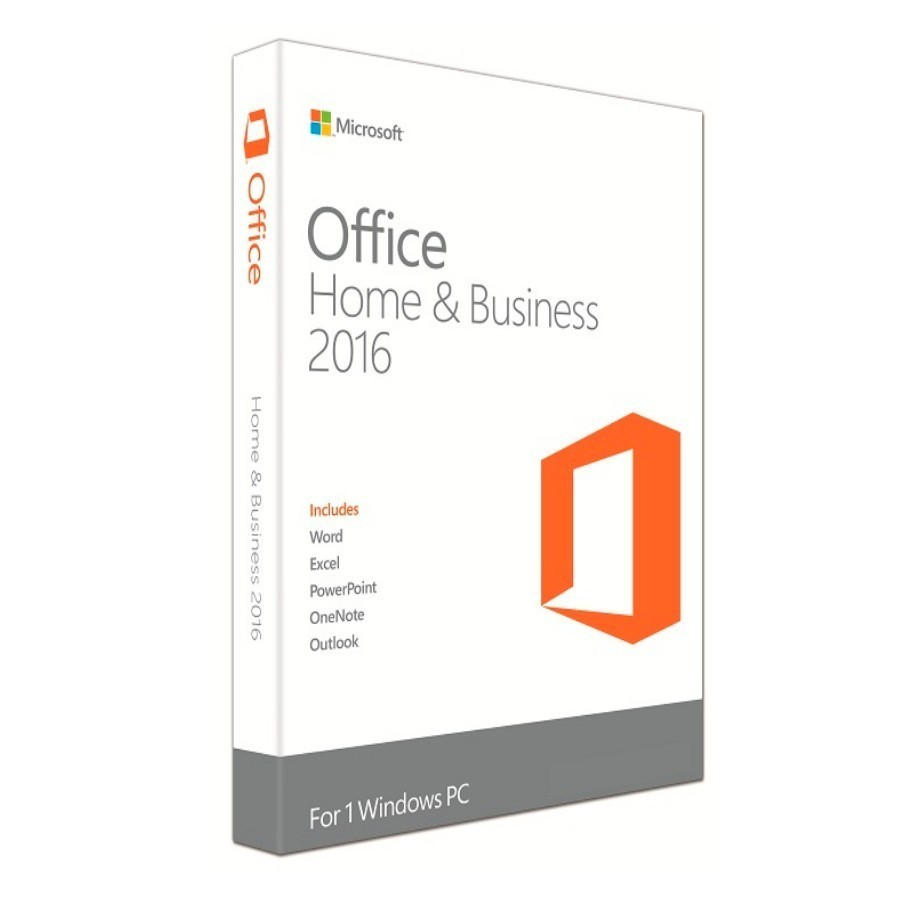 MICROSOFT SW T5D-02713 OFFICE HOME & BUSINESS 2016 FPP 32/64 BIT
