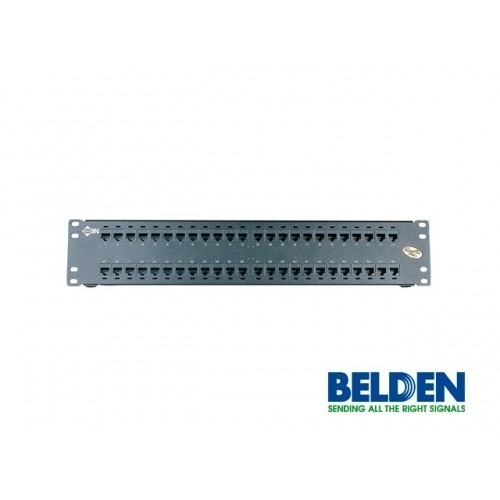 PANEL DE PARCHEO DE 48 PUERTOS CAT6 BELDEN