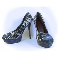 Tacones - Custum Star Wars - Glitter Zapatos - Star Wars - personalizados Cosplay