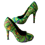 Tacones - Custum Teenage Mutant Ninja Turtle - Personalizados Cosplay