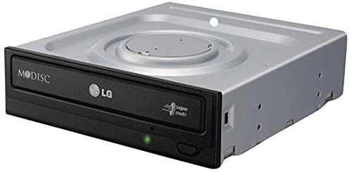 LG DVDRW GH24NSC0 24X SATA without software Black Bare