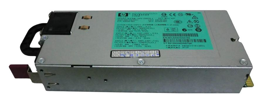 HP 1200-Watts Redundant Hot-Plug AC Power Supply for ProLiant BLc3000/DL580 G5 Server Mfr P/N 441830-001