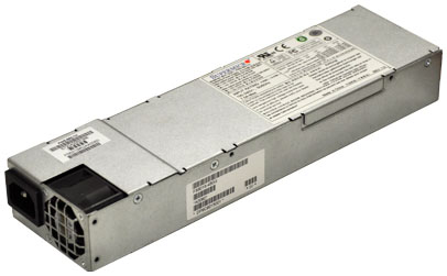 SuperMicro 400 Watts 20-Pin 1U Power Supply Mfr P/N SP-400-1R