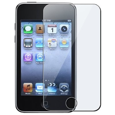 Apple iPod Touch 2nd Generation 2G Screen Protector Film Cover + Cleaning Cloth