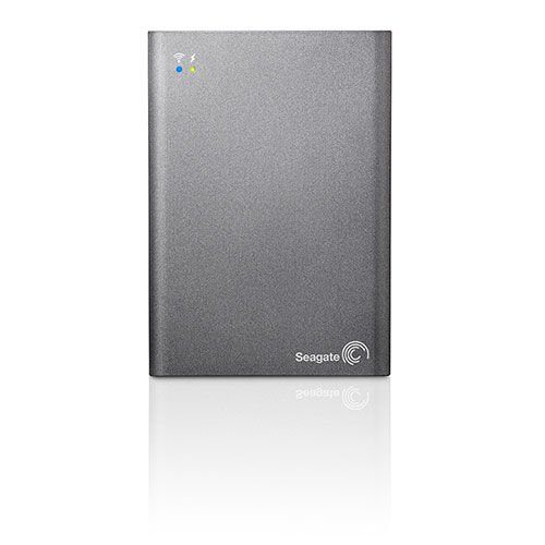 Seagate Wireless Plus 1 TB Mobile Device Storage with Built-In Wi-Fi Streaming (STCK1000100)