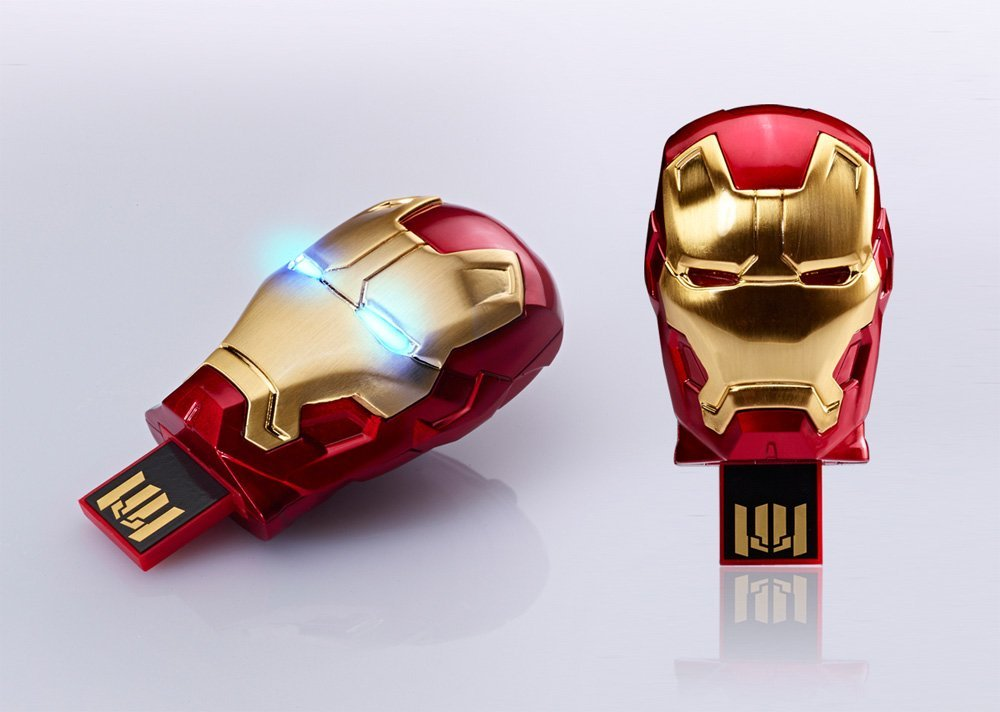 Marvel IRON MAN 3 MARK 42 8GB USB Flash Drive Tony Stark USB Drive