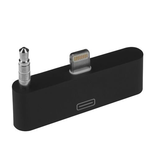 iPhone 5 Adaptor - Lightning To 30 Pin iPhone Adaptor Charge Sync With Audio For Docks Cables Cars By CableAndCase