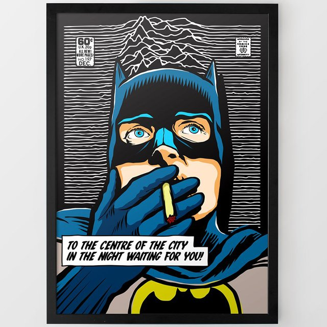Bat Division Print by Butcher Billy