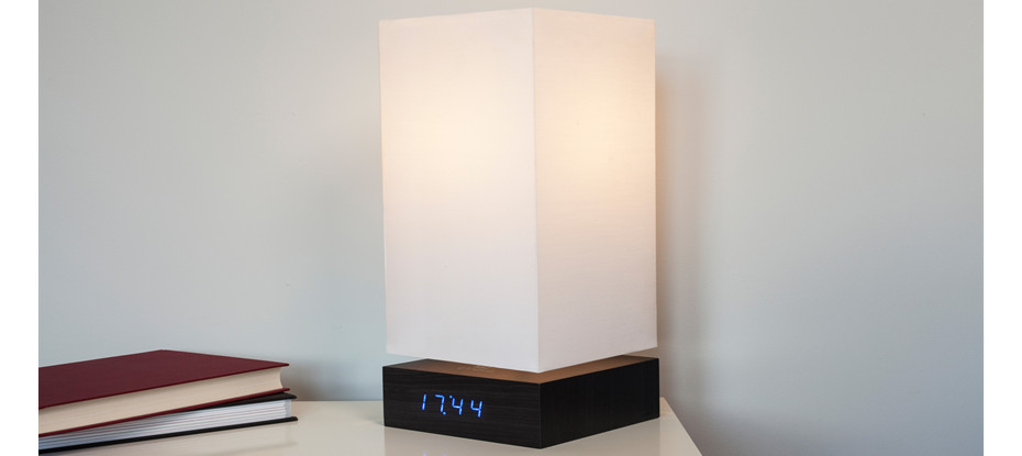Click Clock Lamp by Gingko