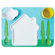 DOIY Landscape Kids Dinner Set
