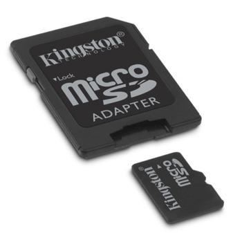 MEMORIA MICRO SD 4 GB  KINGSTON