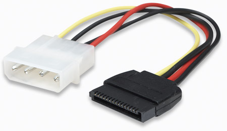 CABLE CORRIENTE INT. HD DD SATA 150 342766