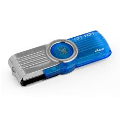 MEMORIA FLASH KINGSTON 4 GB AZUL (DT101G2/4GB