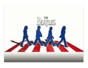 "SKIN P/PORTATILES BEATLES ABBEY  ROAD 10.2"" 15"