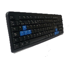 TECLADO ESTANDAR NEGRO USB ILLUSION MOD KB2029