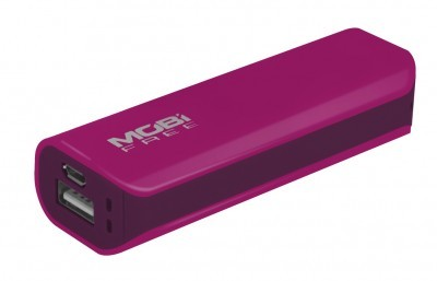 Power Bank ACTECK - Rosa, 2200 mAh