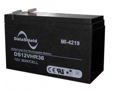 Batería para No Break DATASHIELD MI-4219 - Negro, 12 V, 9 AH