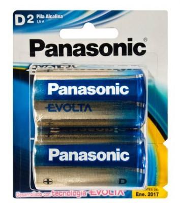 Bater a alcalina panasonic lr20egl 2b bl ster con 2 for Tamanos de pilas