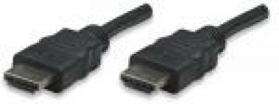 Cable HDMI MANHATTAN - 5 m, HDMI, HDMI, Macho/Macho, Negro