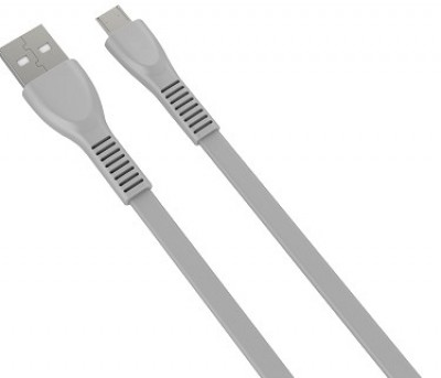 Cable USB a Micro USB Naceb Technology NA-0103G - 1 m, Gris
