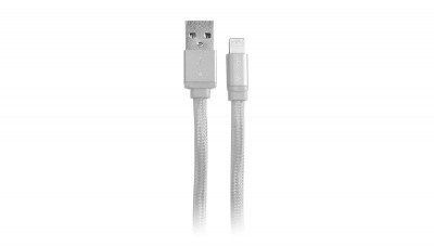 Cable Lightning VORAGO CAB-119 - Color blanco, 1 m, Cable Lightning