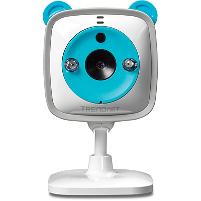 Camara TRENDnet - Color blanco, LCD