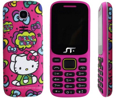 Celular ACTECK Hello Kitty - 1.77 pulgadas, 32 MB, Rosa