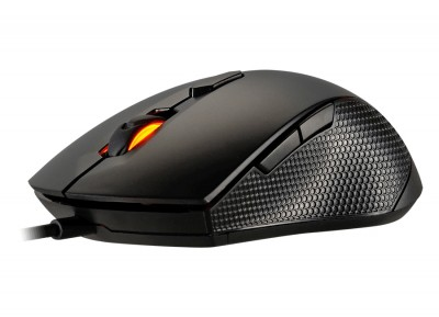 Mouse Gaming Cougar 3MMX1WOB.0001 - USB, Juego, Óptico, 500-2000 DPI, Negro